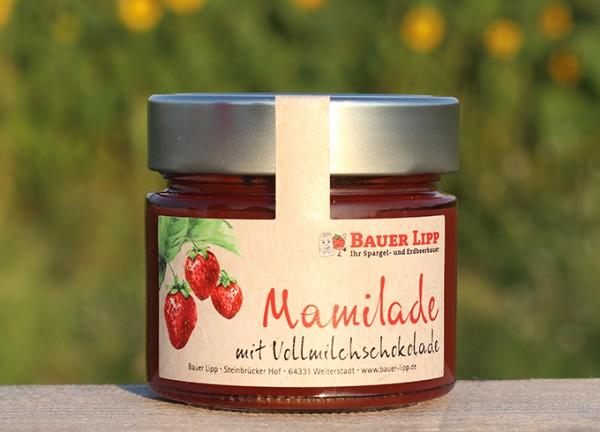 Erdbeer-Mamilade mit Vollmilchschokolade 210 g