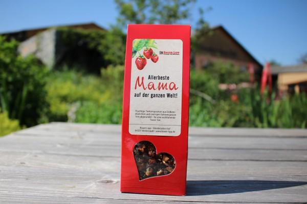 Allerbeste Mama, Erdbeer- Früchtetee Mischung 75g