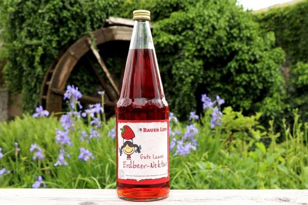 Gute Laune Erdbeer-Nektar 1 l