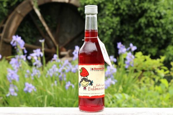 Gute Laune Erdbeersirup 250 ml