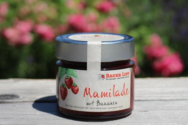 Mamilade, Erdbeere mit Bananen 210g