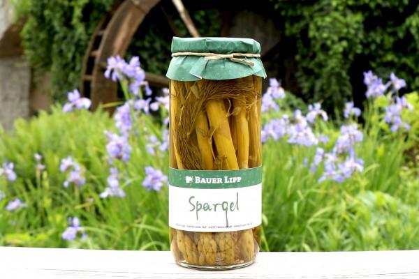 Grüner Spargel mit Kräuter, süß- sauer eingelegt 200 g