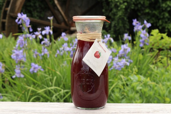 Erdbeeren in Rotwein 500 ml