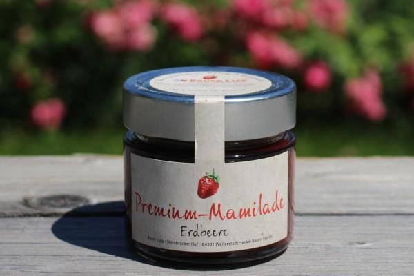 Premium Mamilade, Erdbeere 210g
