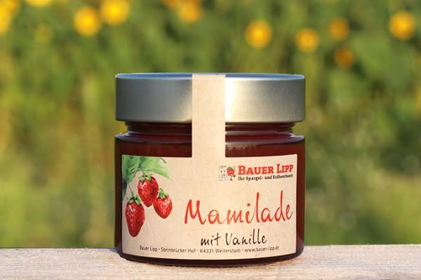 Erdbeer-Mamilade mit Vanille 210 g
