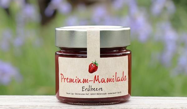 Premium Mamilade, Erdbeere 210 g