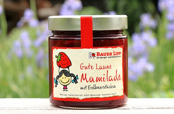 Gute Laune Mamilade, Erdbeere 410 g