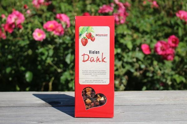 Vielen Dank, Erdbeer- Früchtetee Mischung 75 g