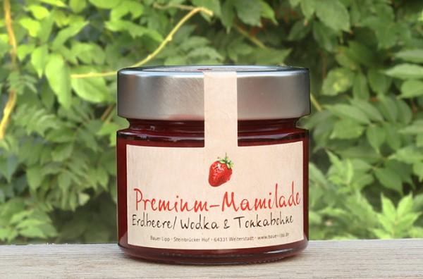 Erdbeer-Mamilade mit Rum 210 g