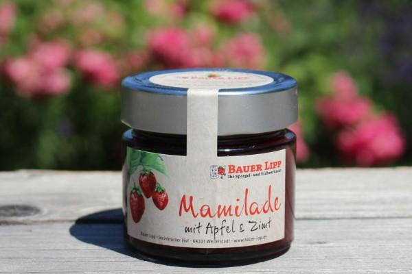 Mamilade, Erdbeere mit Apfel & Zimt 210g