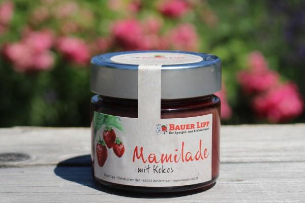 Mamilade, Erdbeere mit Kokos 210g