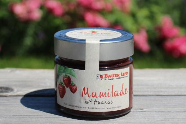 Erdbeer-Mamilade mit Ananas 210 g