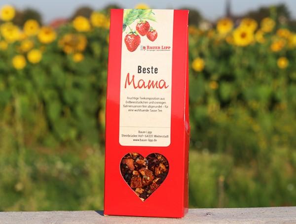 Beste Mama, Erdbeer- Früchtetee Mischung 75 g